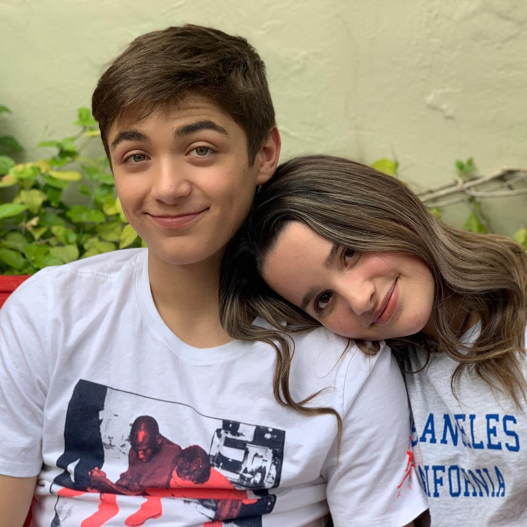 Asher Angel and Annie Leblanc