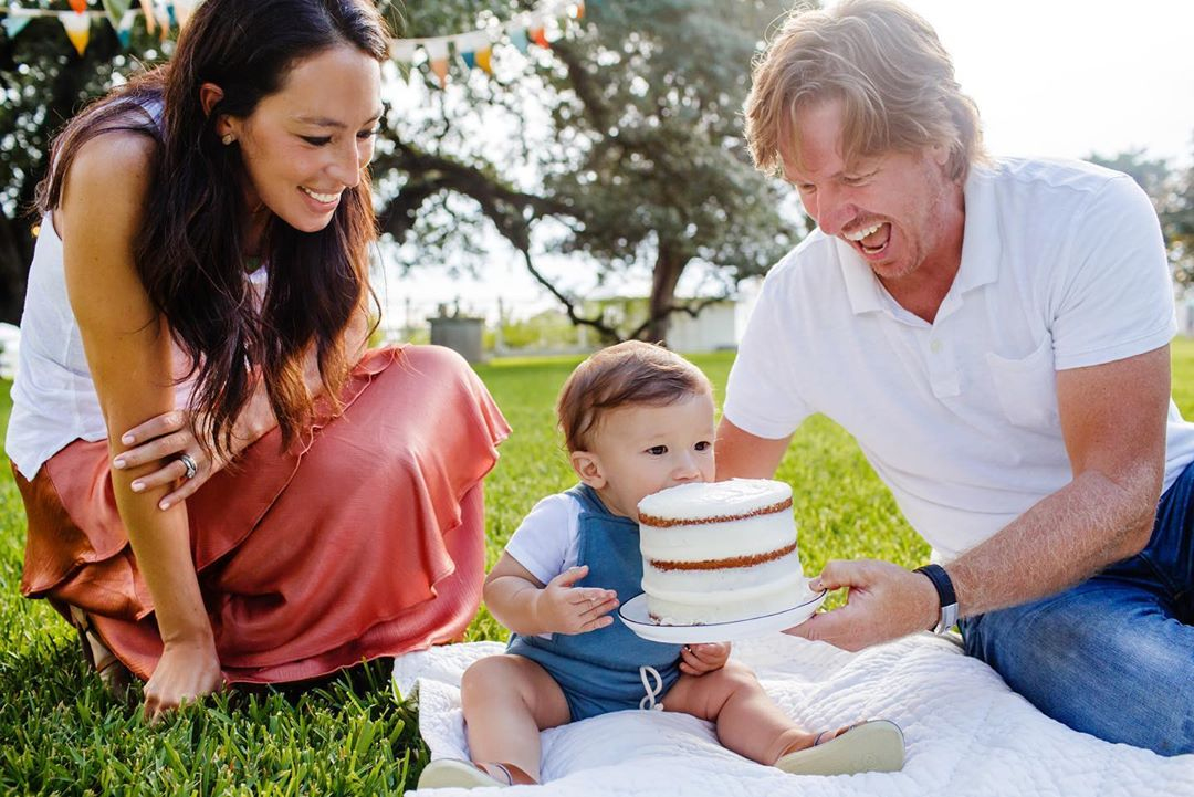 Joanna Gaines kid
