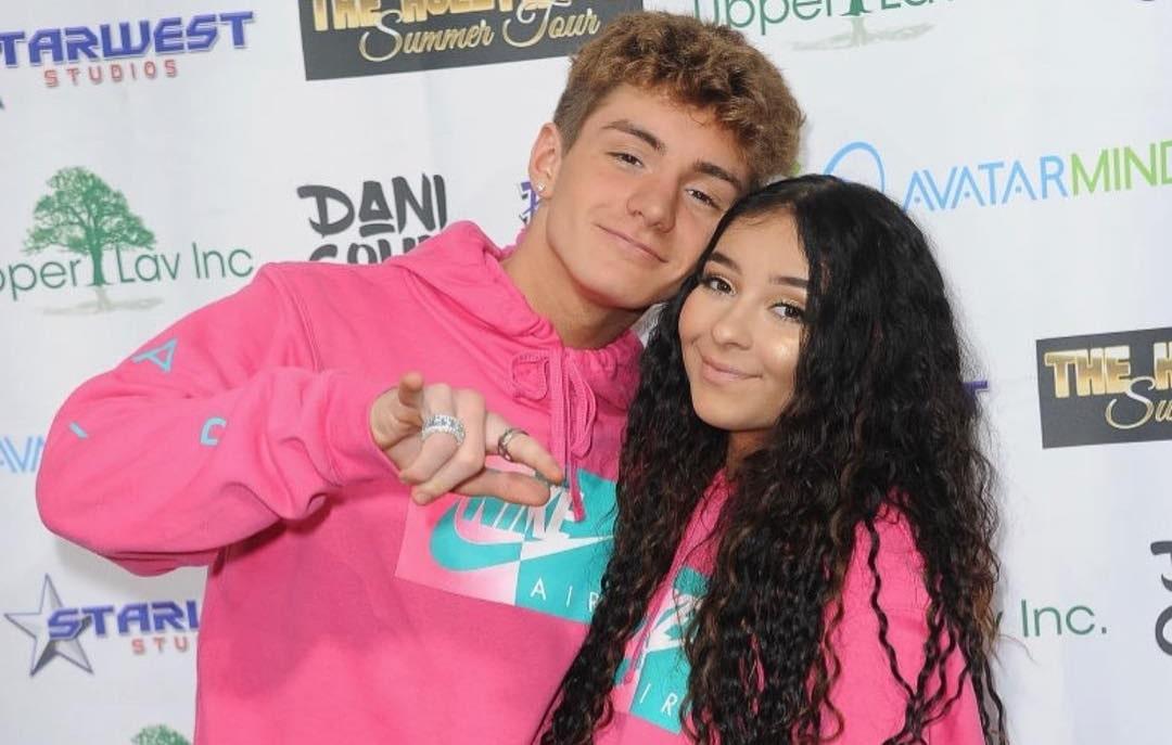 Mikey Tua and Danielle Cohn