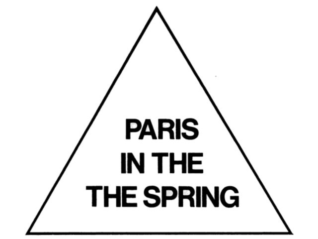 paris in the