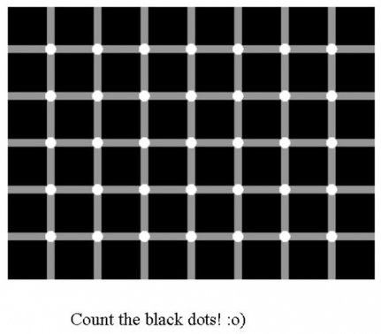 no black dots