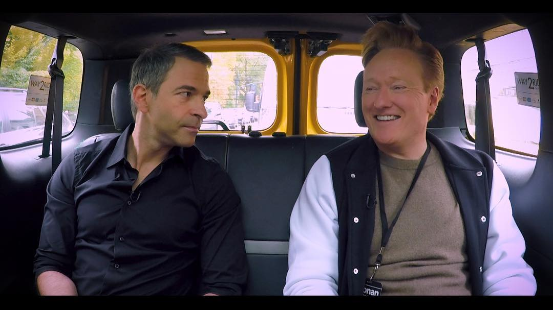 Schlansky and Conan O'Brien