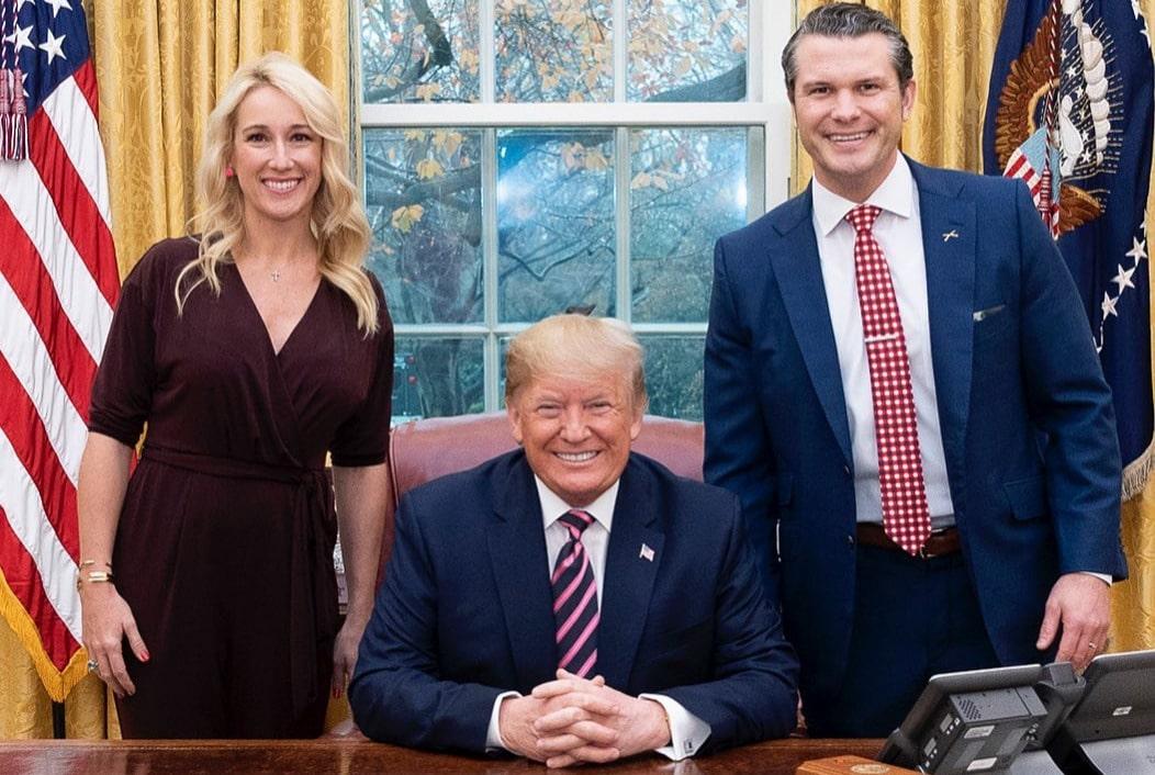 Jennifer, Trump and Pete Hegseth