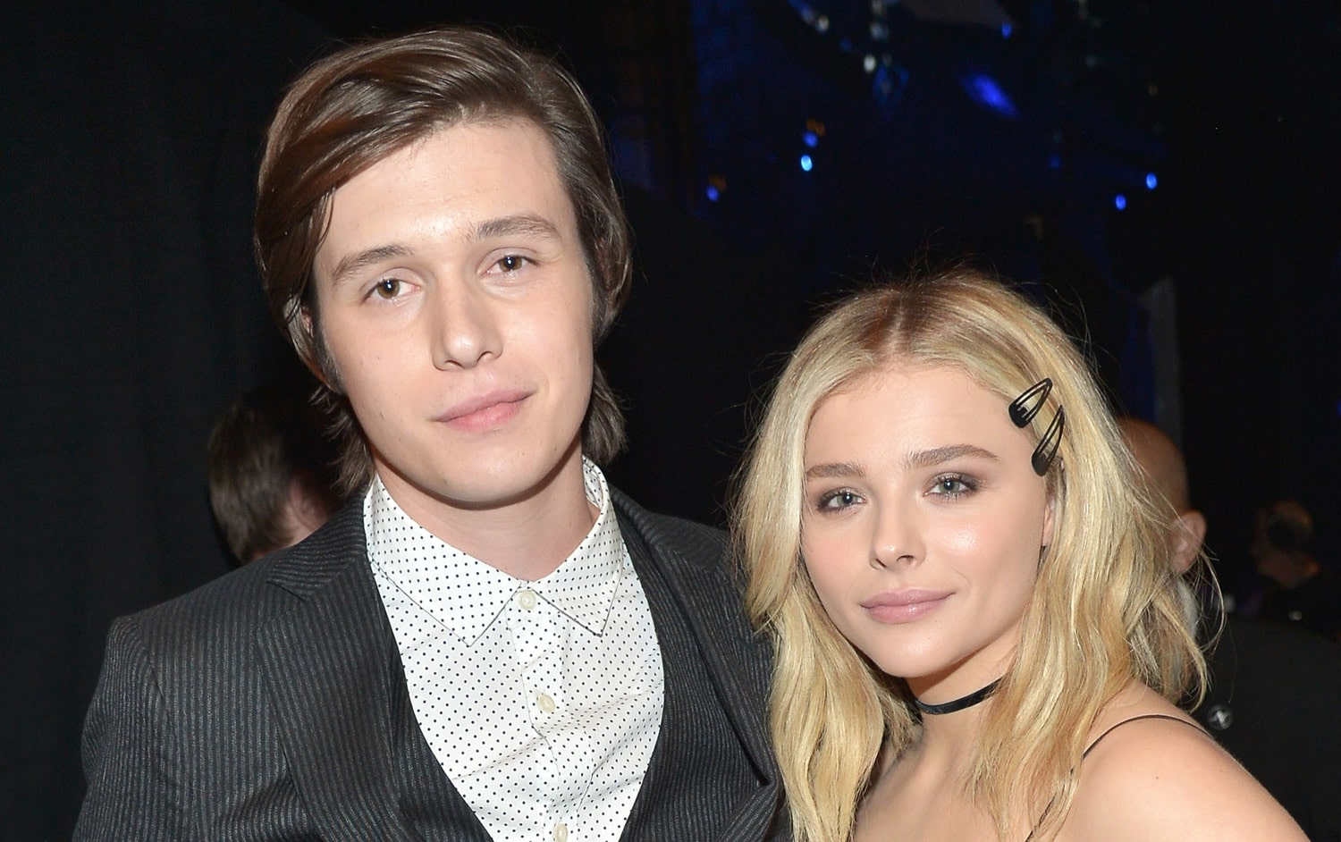 Nick Robinson and Chloe Grace Moretz