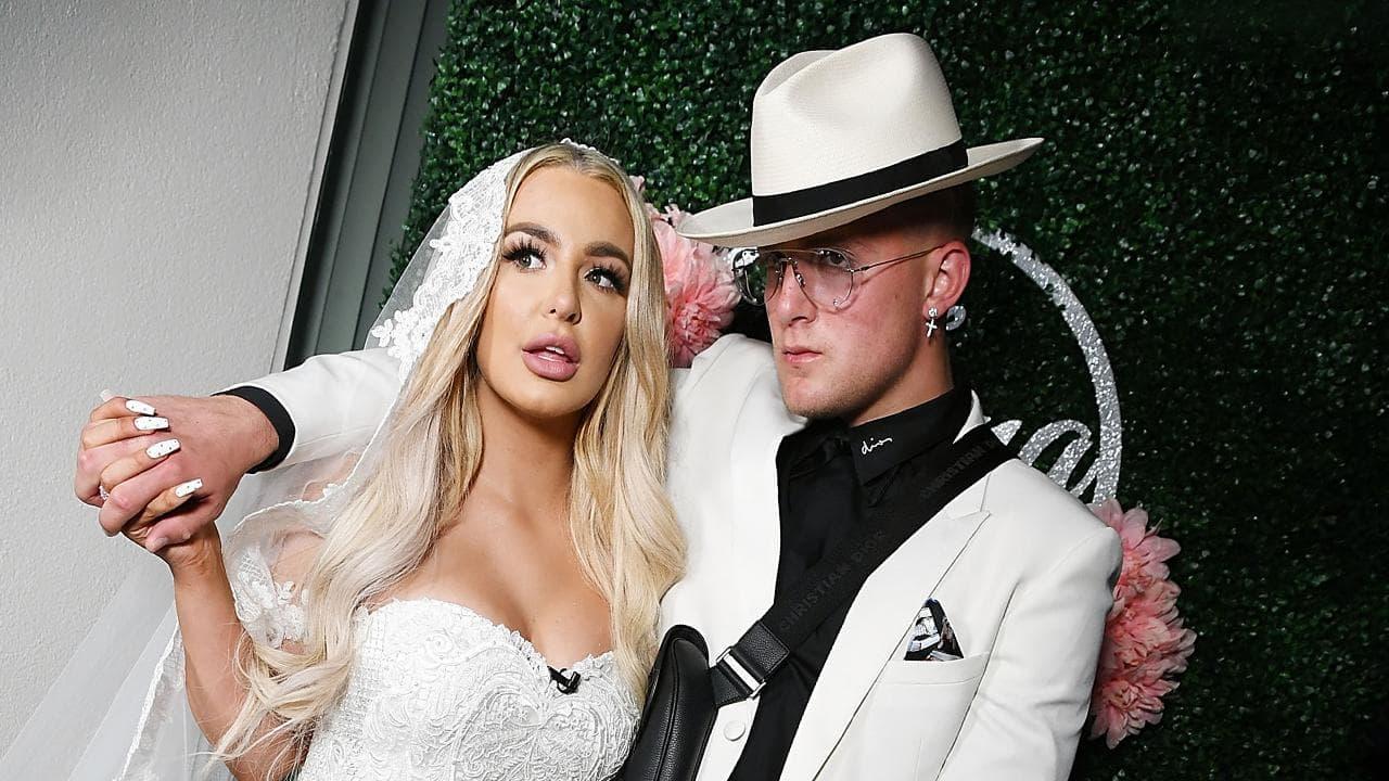 Jake Paul and Tana Mongeau's wedding