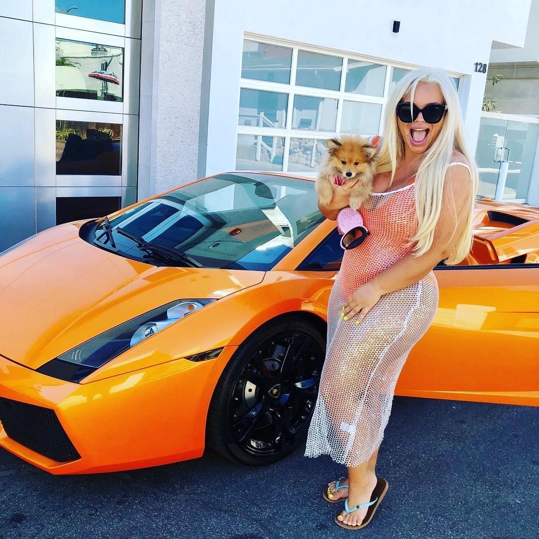 Trisha Paytas car