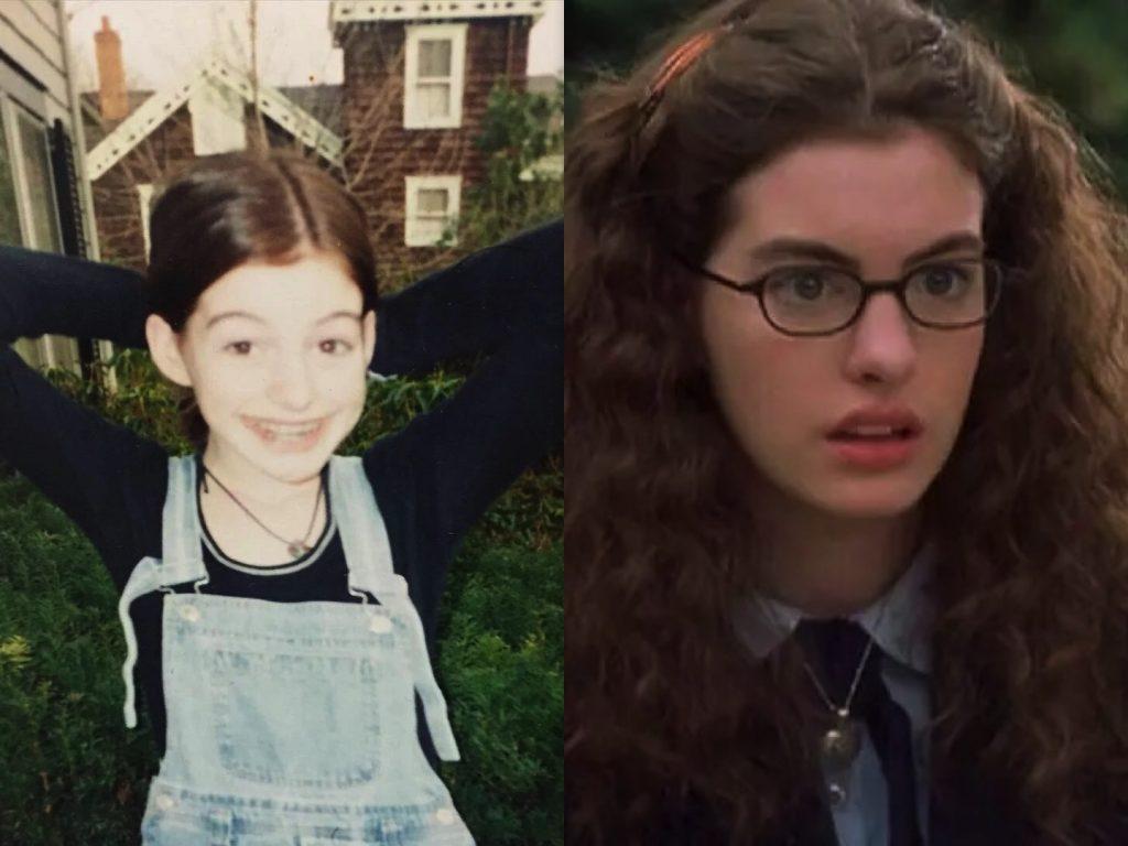 Anne Hathaway Childhood