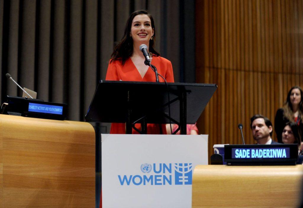 Anne Hathaway UN