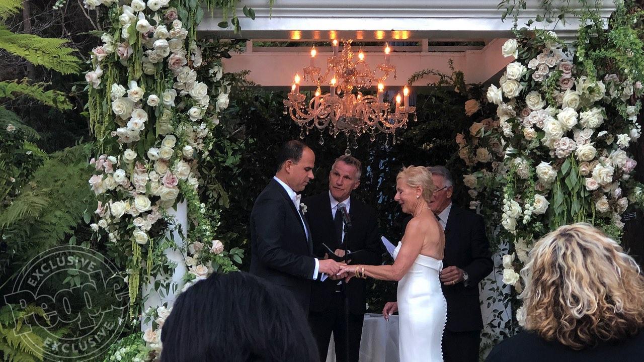 Bobbi Raffel and Marcus Lemonis wedding