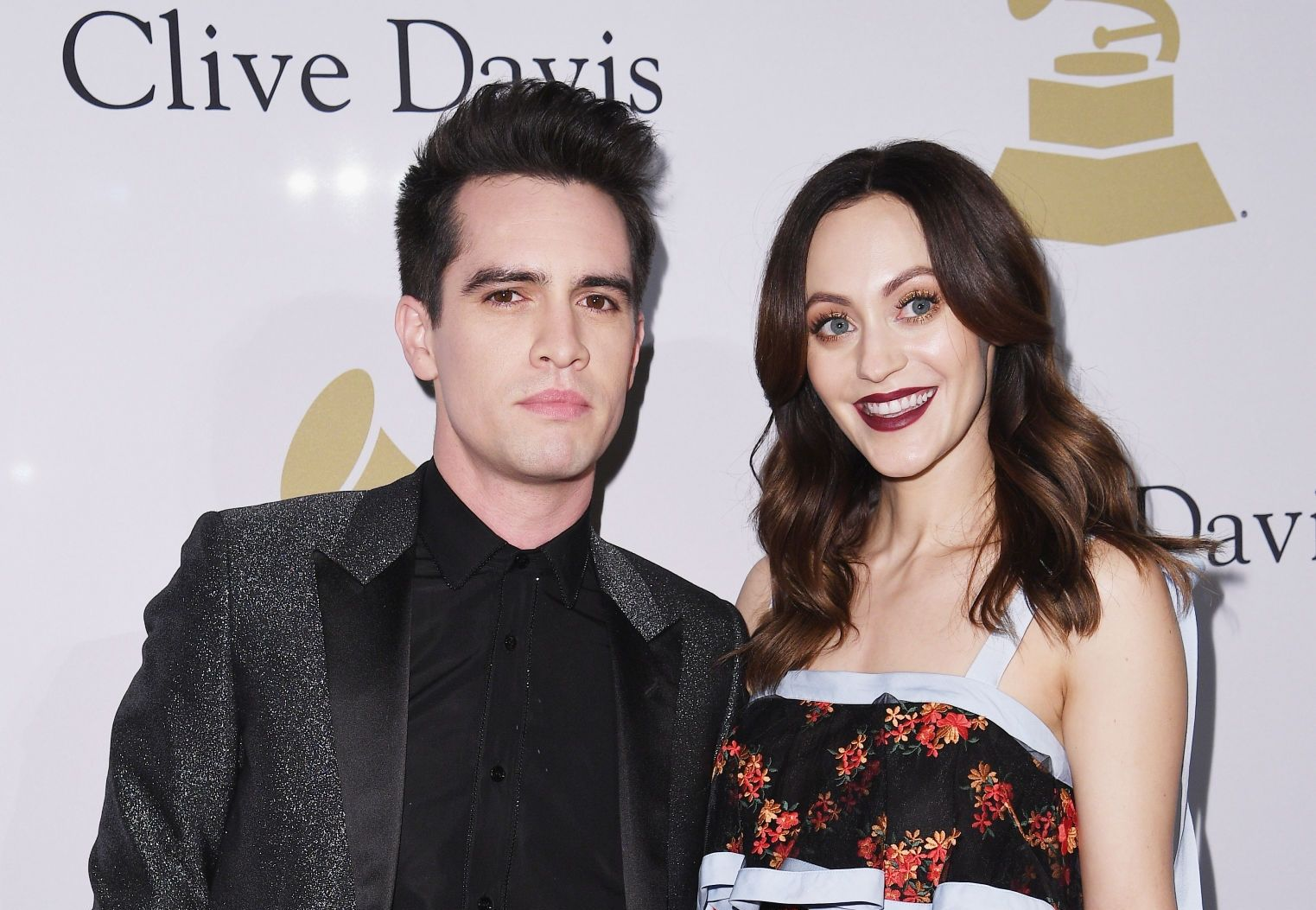 Brendon Urie and his Wife