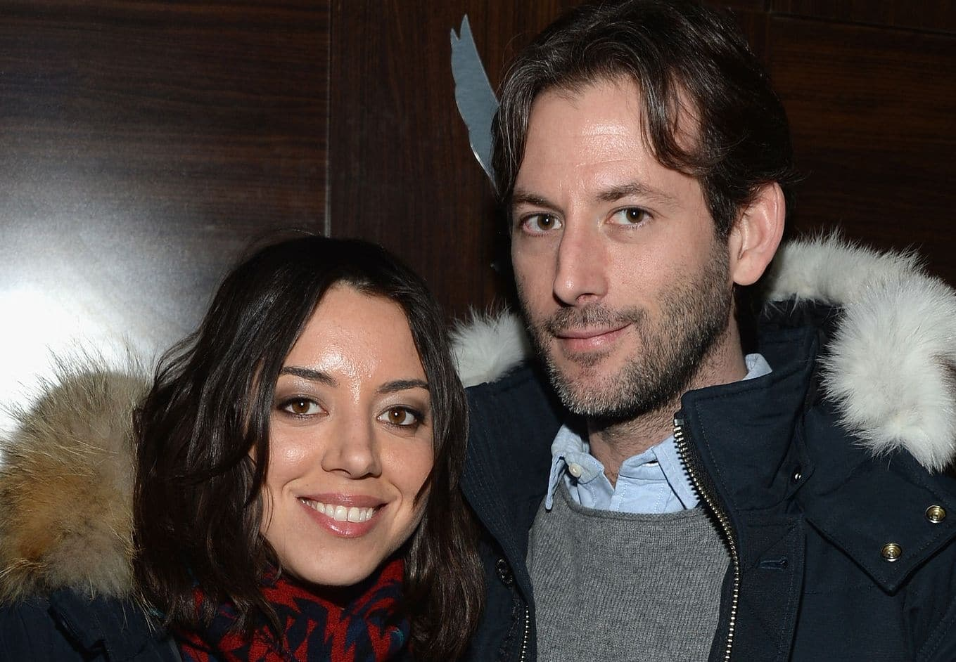 Aubrey Plaza and Jeff Baena