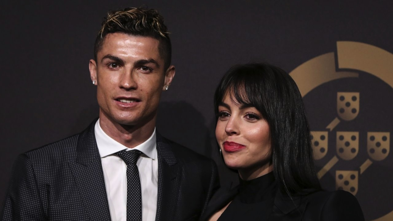 Cristiano Ronaldo and his wife to be