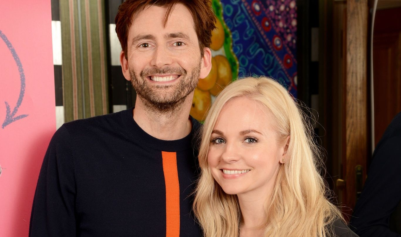 David Tennant and Georgia Moffett