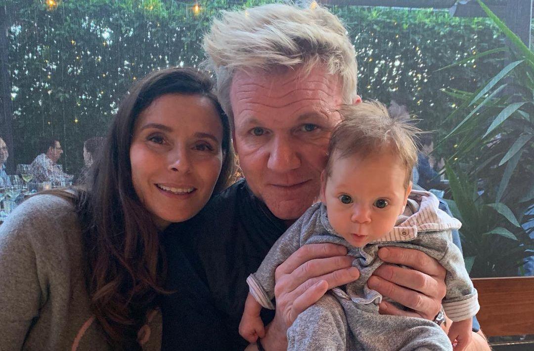 Gordon Ramsay, Tana and Oscar James