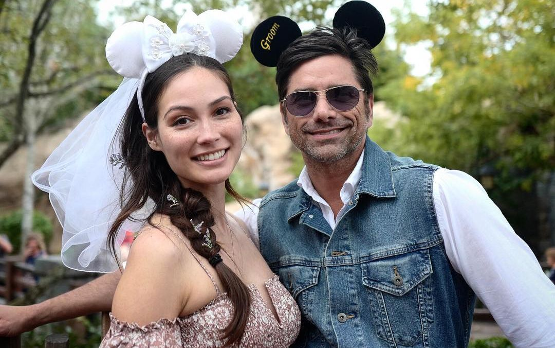 John Stamos and Caitlin McHugh honey moon