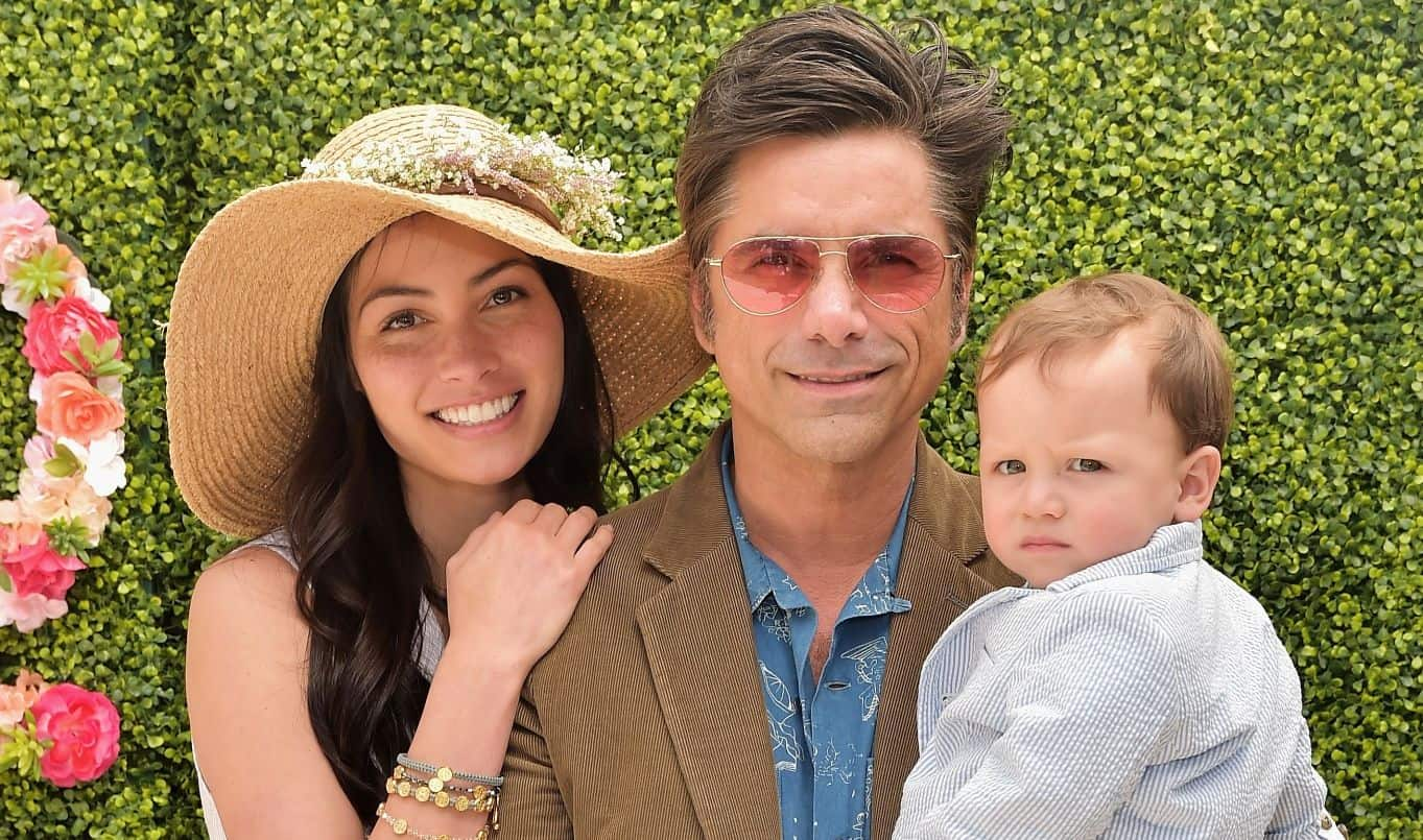 John Stamos, Caitlin McHugh and Billy Stamos