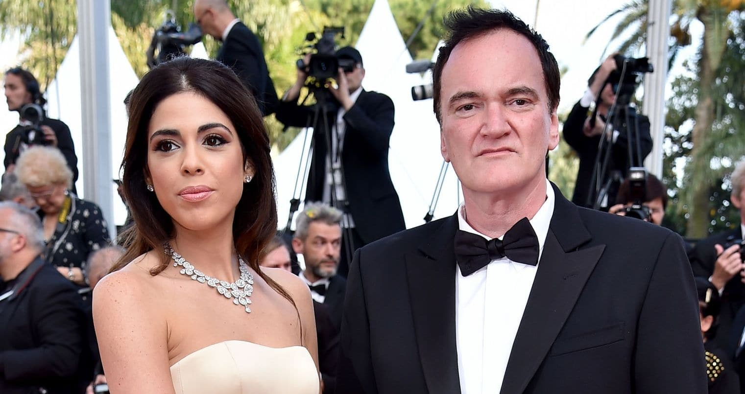 Quentin Tarantino and Daniella Pick
