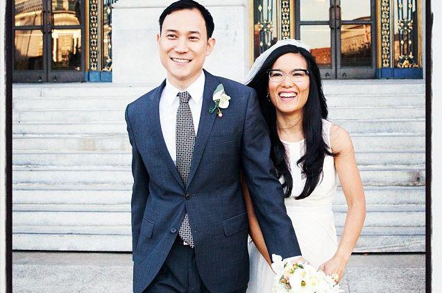 Justin Hakuta and Ali Wong Wedding