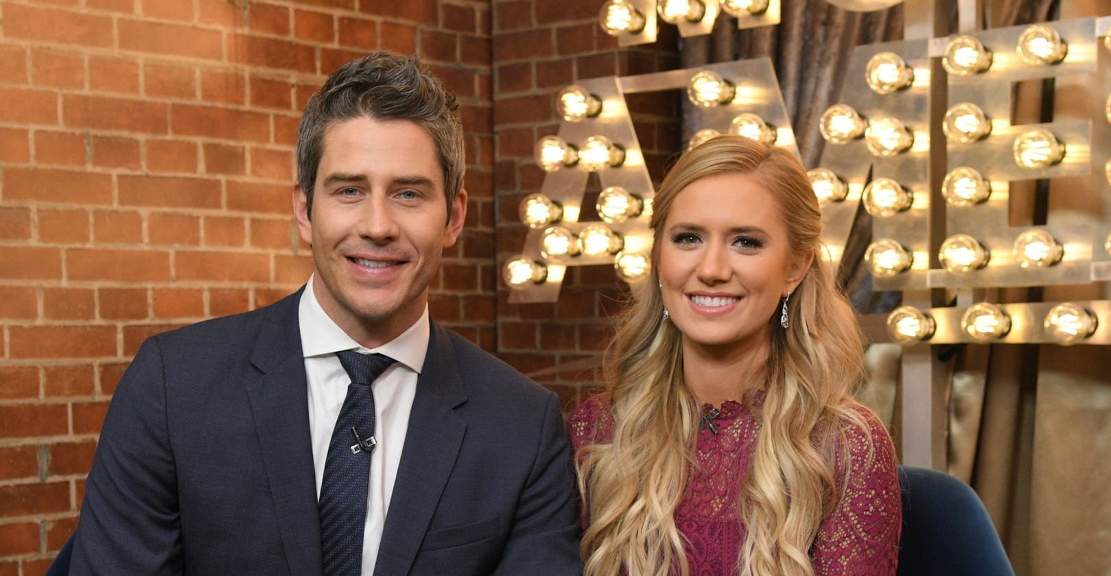 Arie Luyendyk and Lauren Burnham