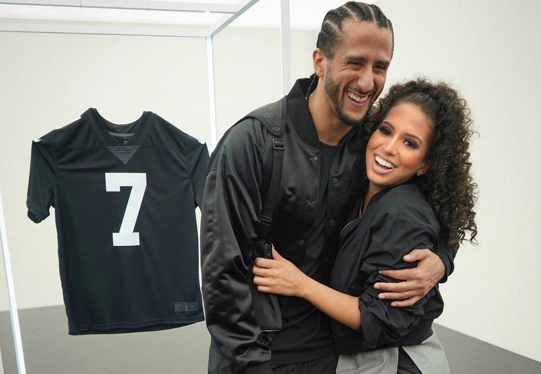 Colin Kaepernick and Nessa Diab