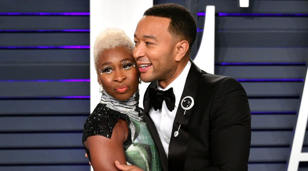 Cynthia Erivo and John Legend