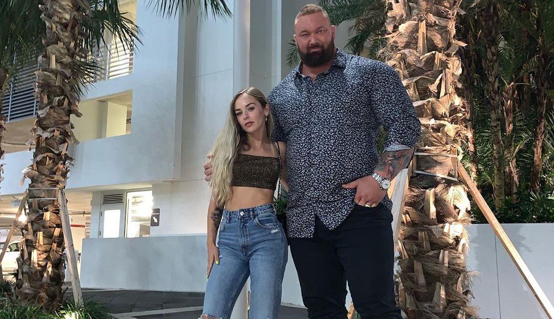 Hafthor Bjornsson and Kelsey Henson