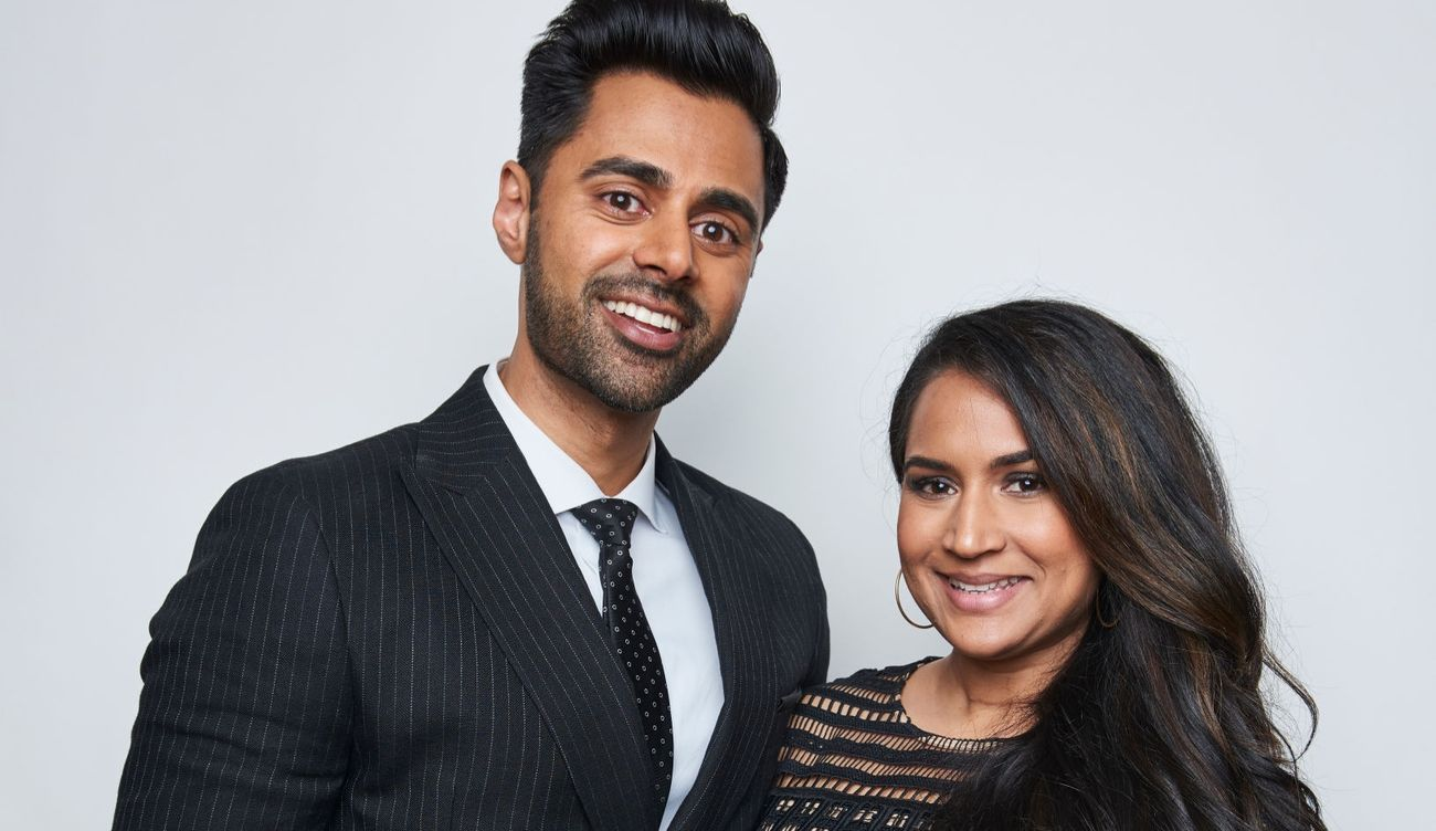 Hasan Minhaj and Beena Minhaj