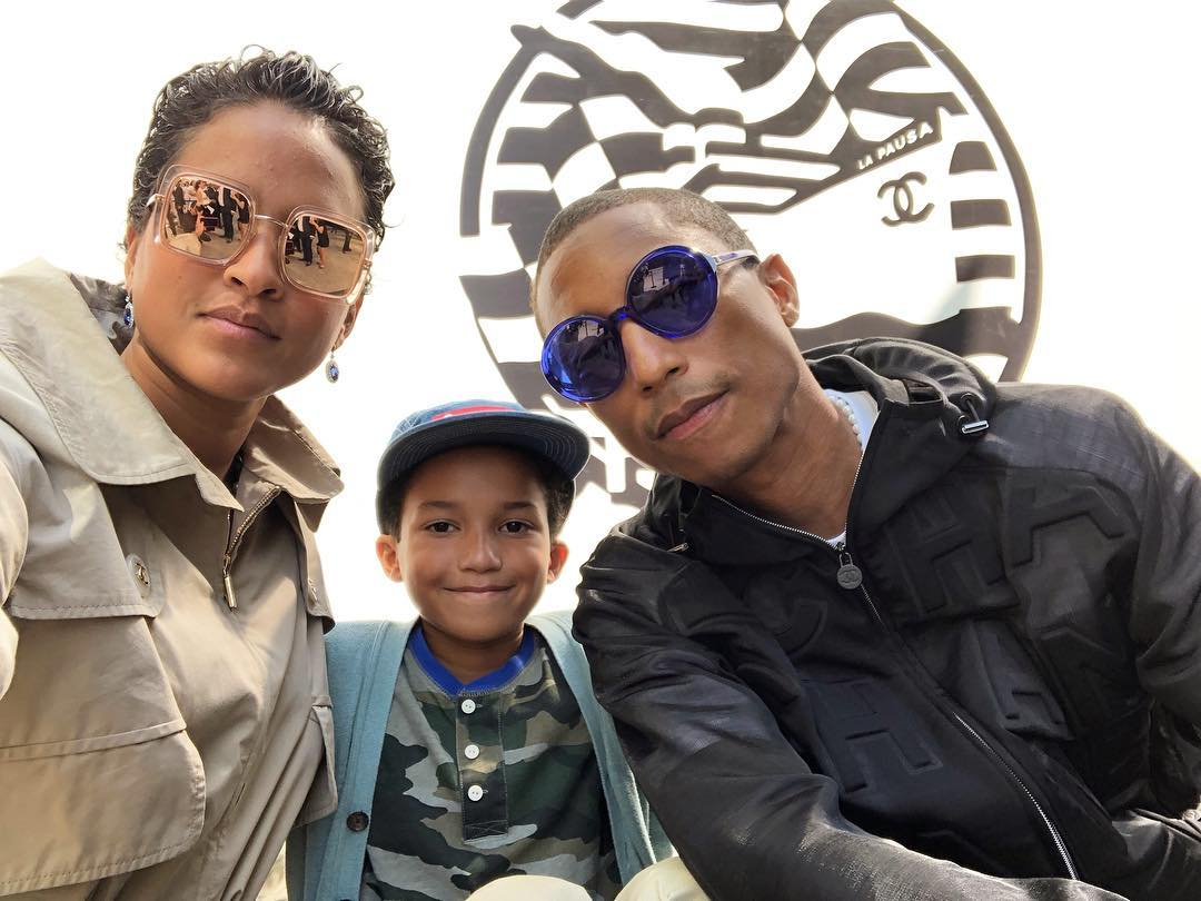 Helen Lasichanh, Rocket Ayer Williams and Pharrell Williams