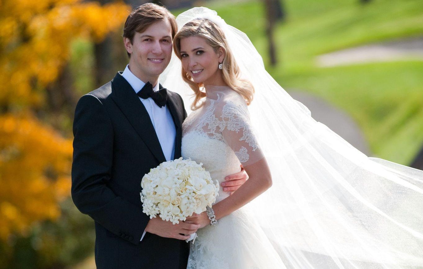 Jared Kushner and Ivanka Trump wedding
