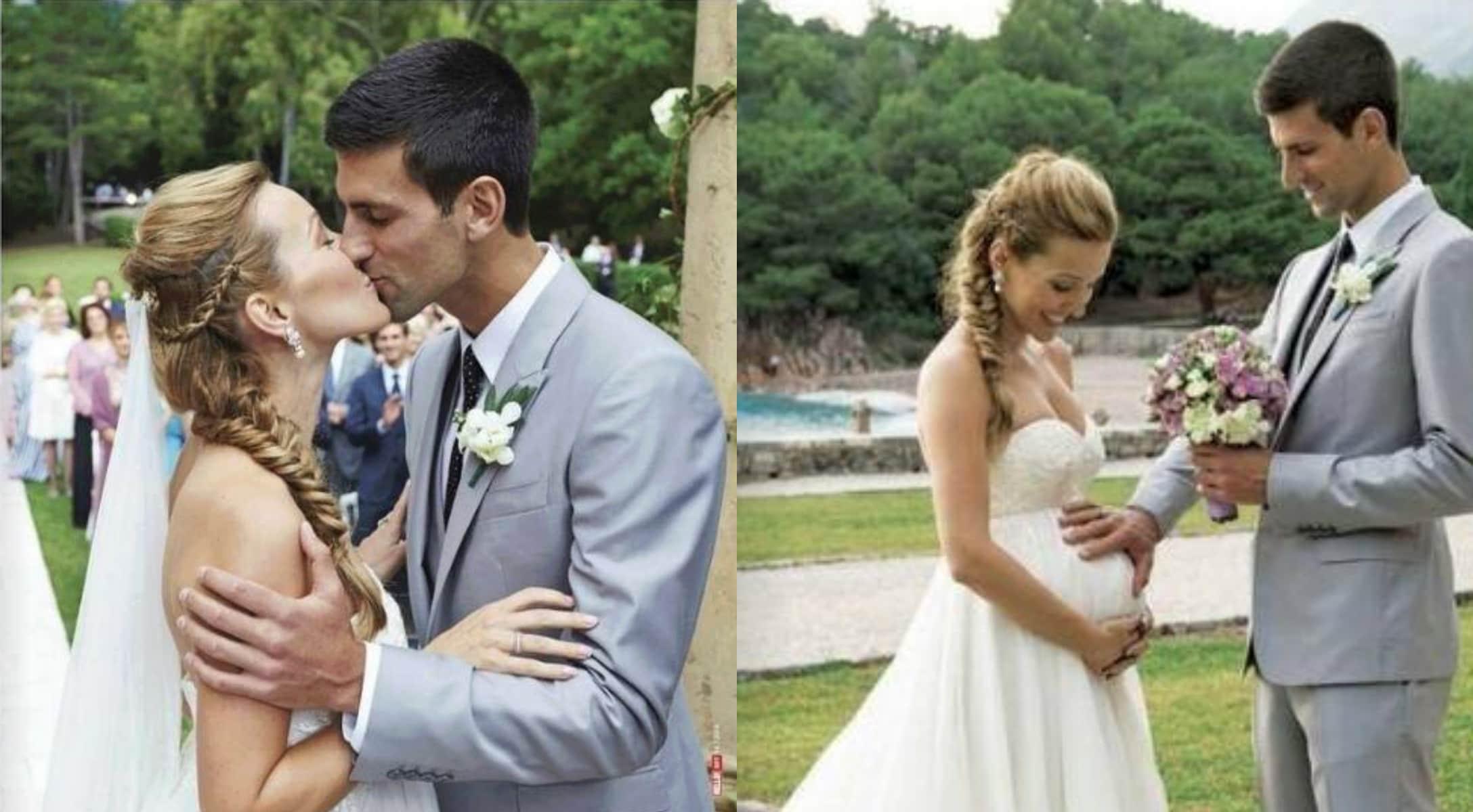 Jelena and Novak's wedding