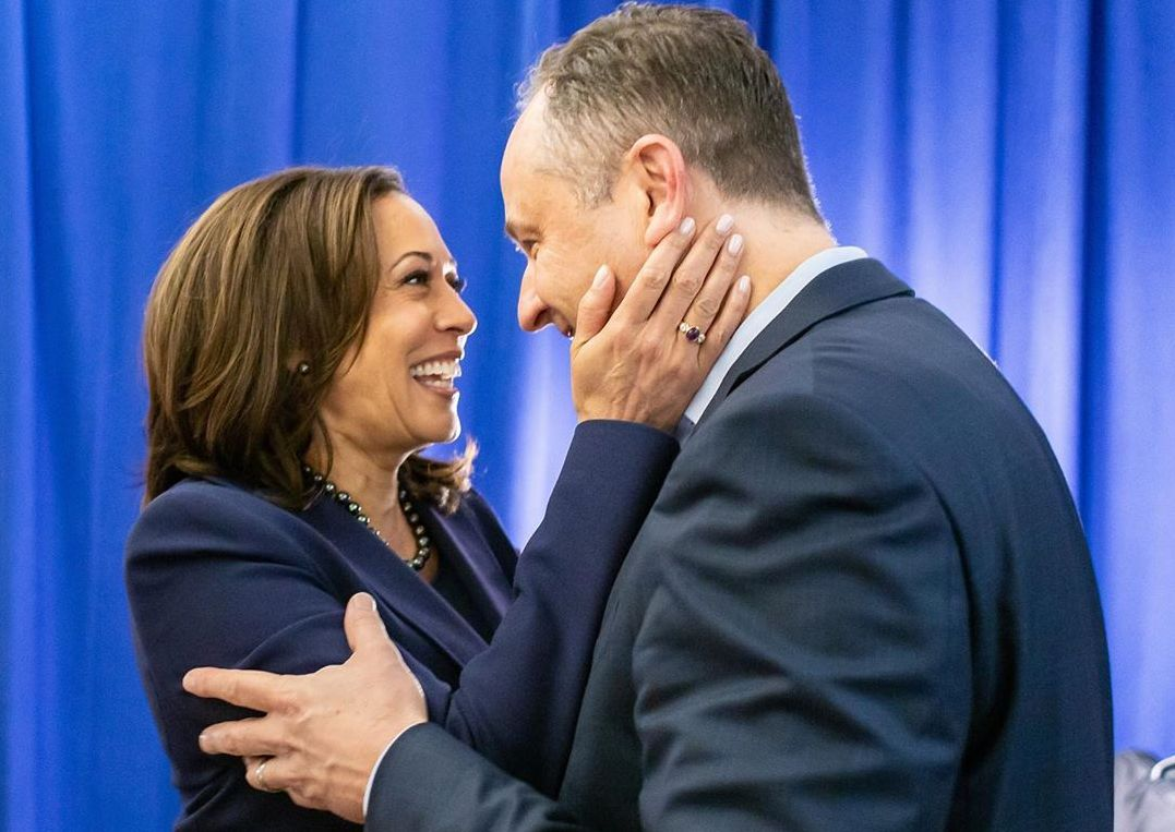 Kamala Harris and Douglas Emhoff