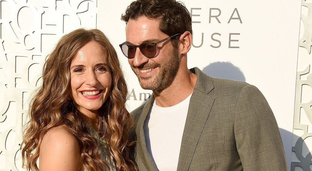 Meaghan and Tom Ellis