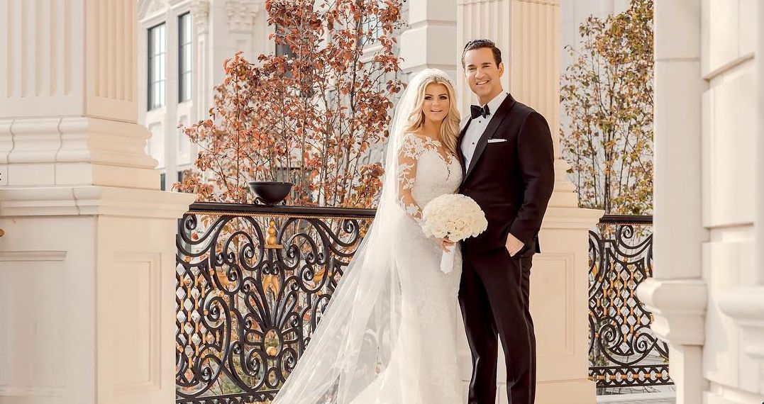 Mike Sorrentino and Lauren Pesce's wedding