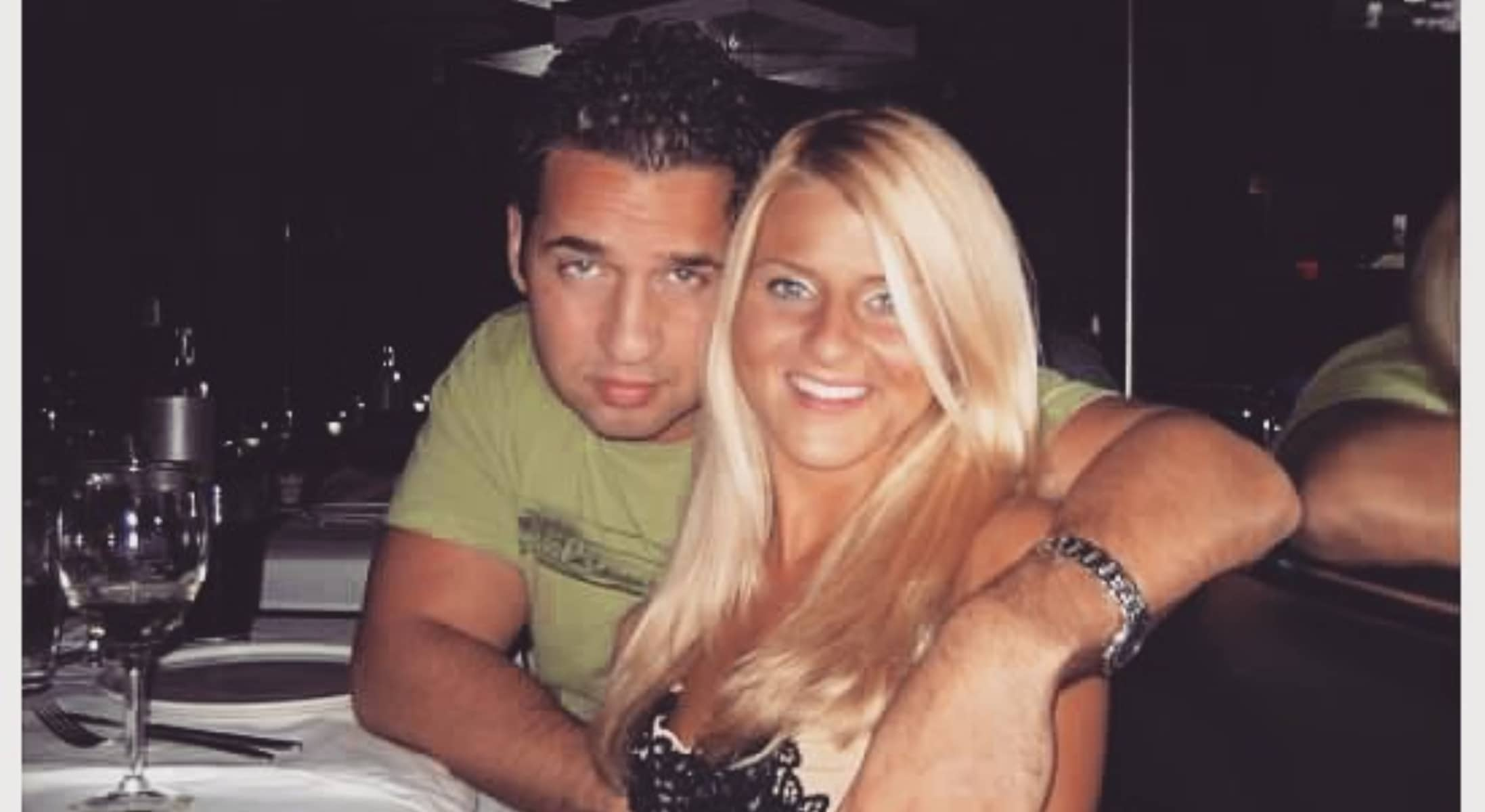 Mike Sorrentino's Wife- Lauren Pesce Throwback