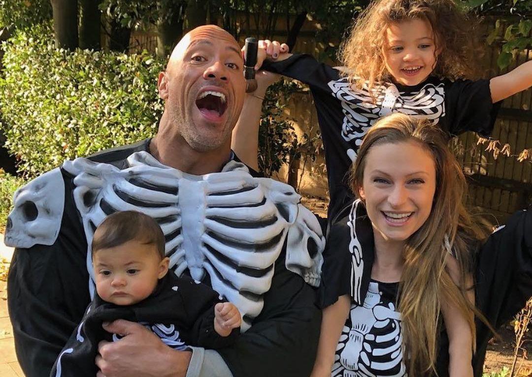 Dwayne johnson's family