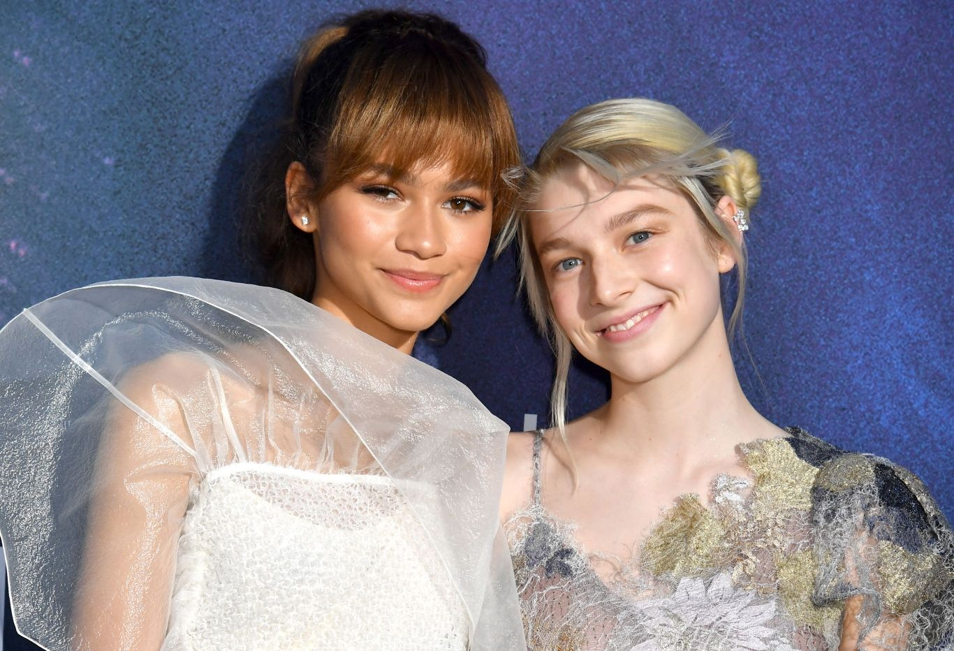Zendaya and Hunter Schafer