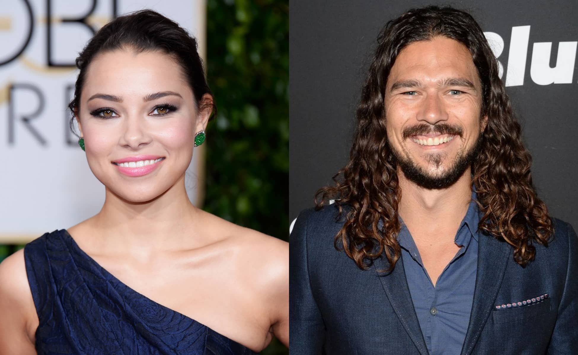 Jessica Parker Kennedy and Luke Arnold