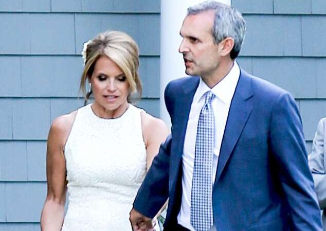 Katie Couric and John Molner's wedding