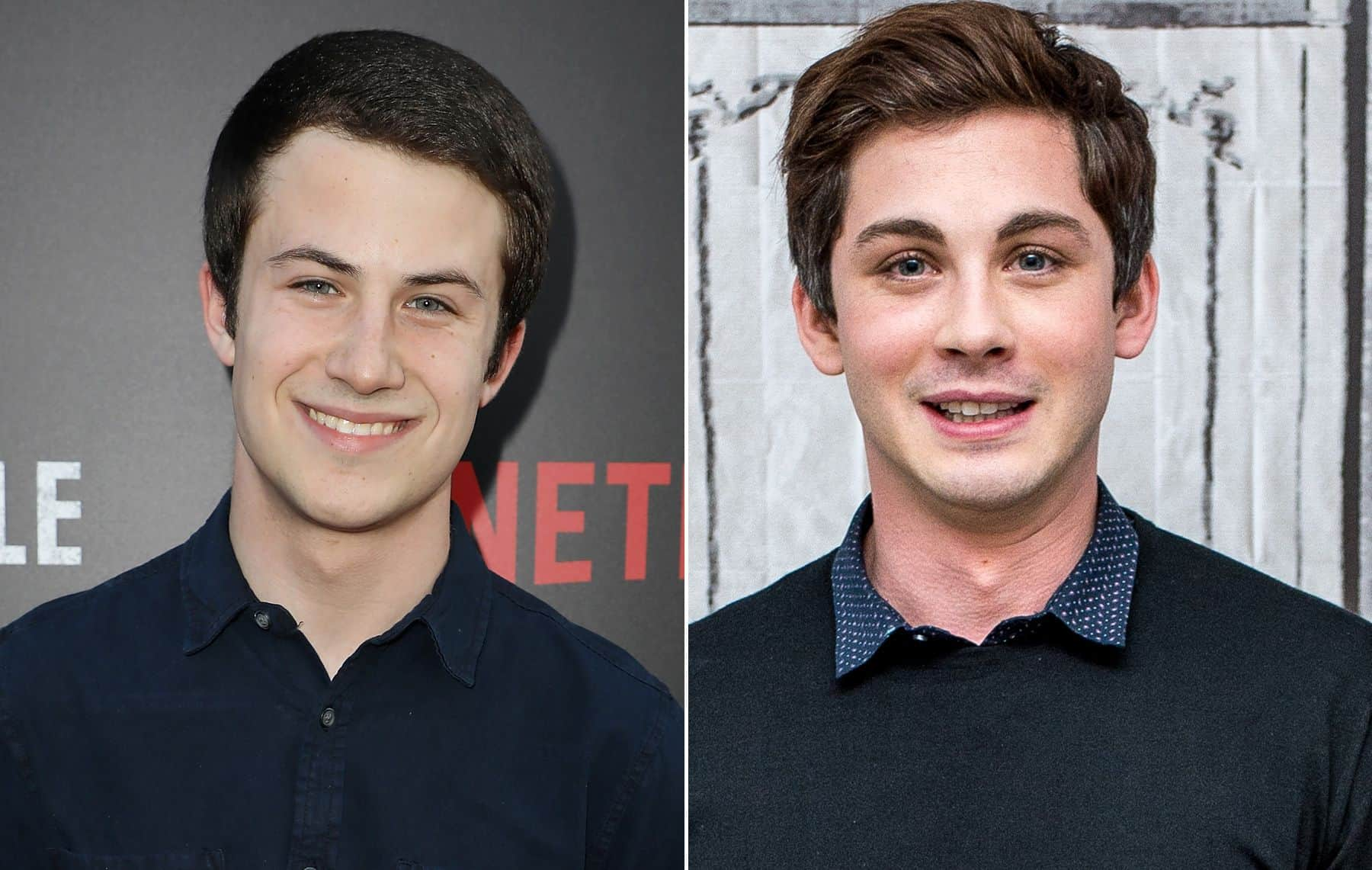 Dylan Minnette and Logan Lerman