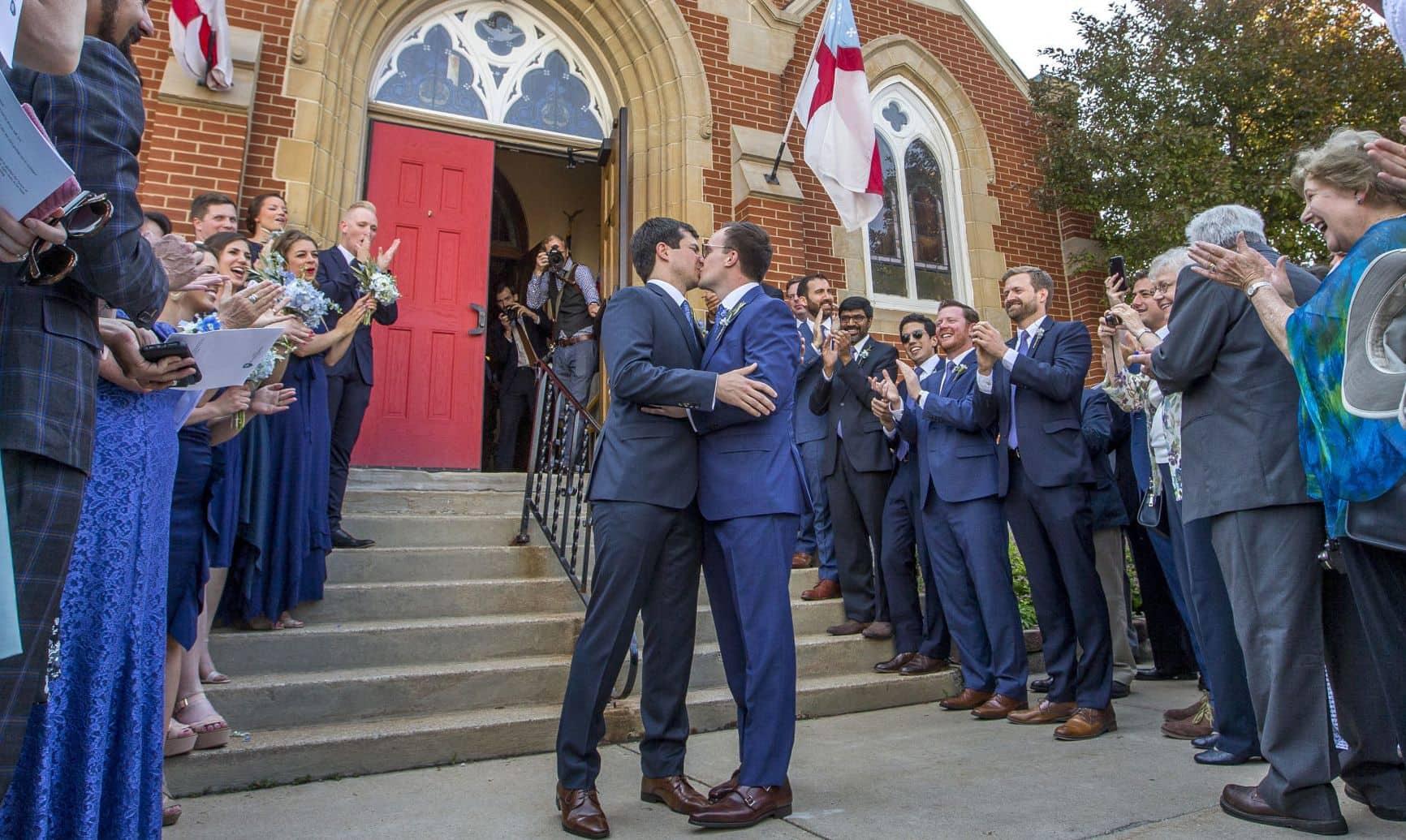 Pete Buttigieg and Chasten Glezman's wedding