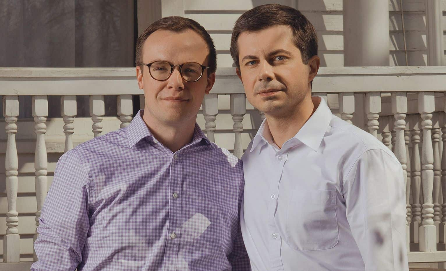 Chasten Glezman and Pete Buttigieg