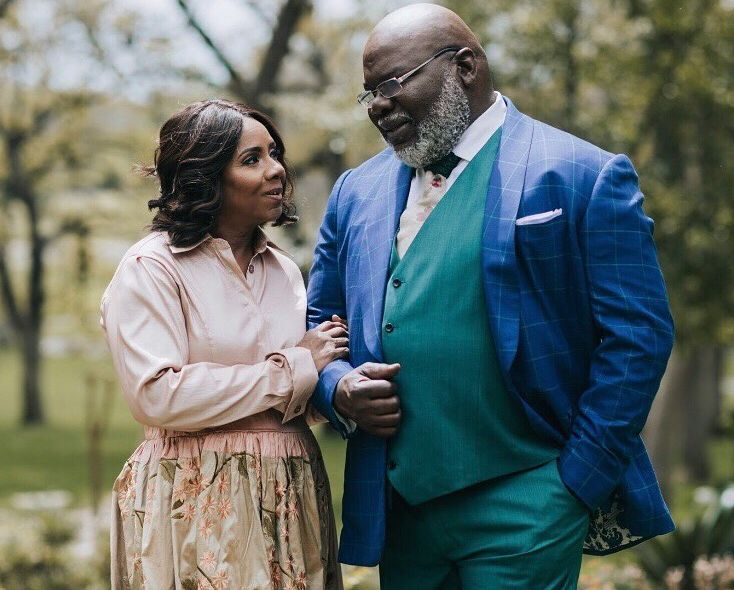 Serita Jakes and T. D. Jakes