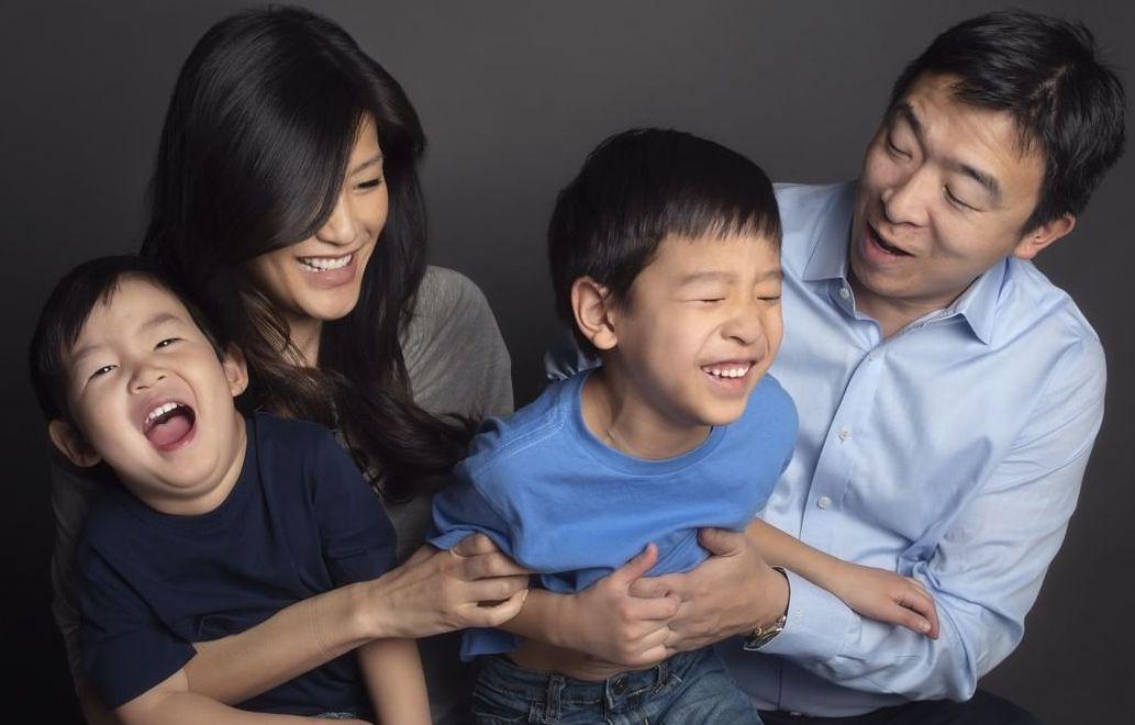 Andrew Yang's family