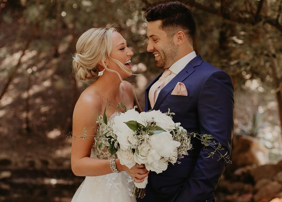Baker Mayfield and Emily Wilkinson's wedding
