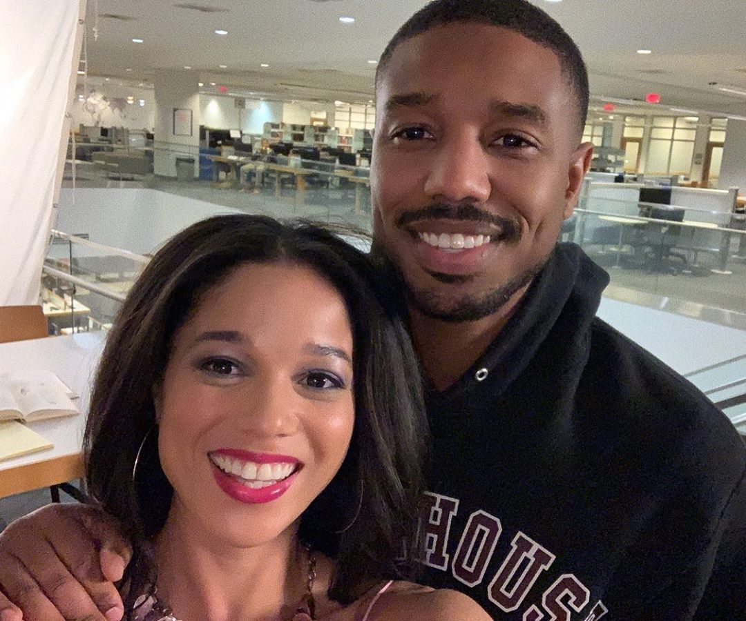 Alisha Wainwright and Michael B. Jordan
