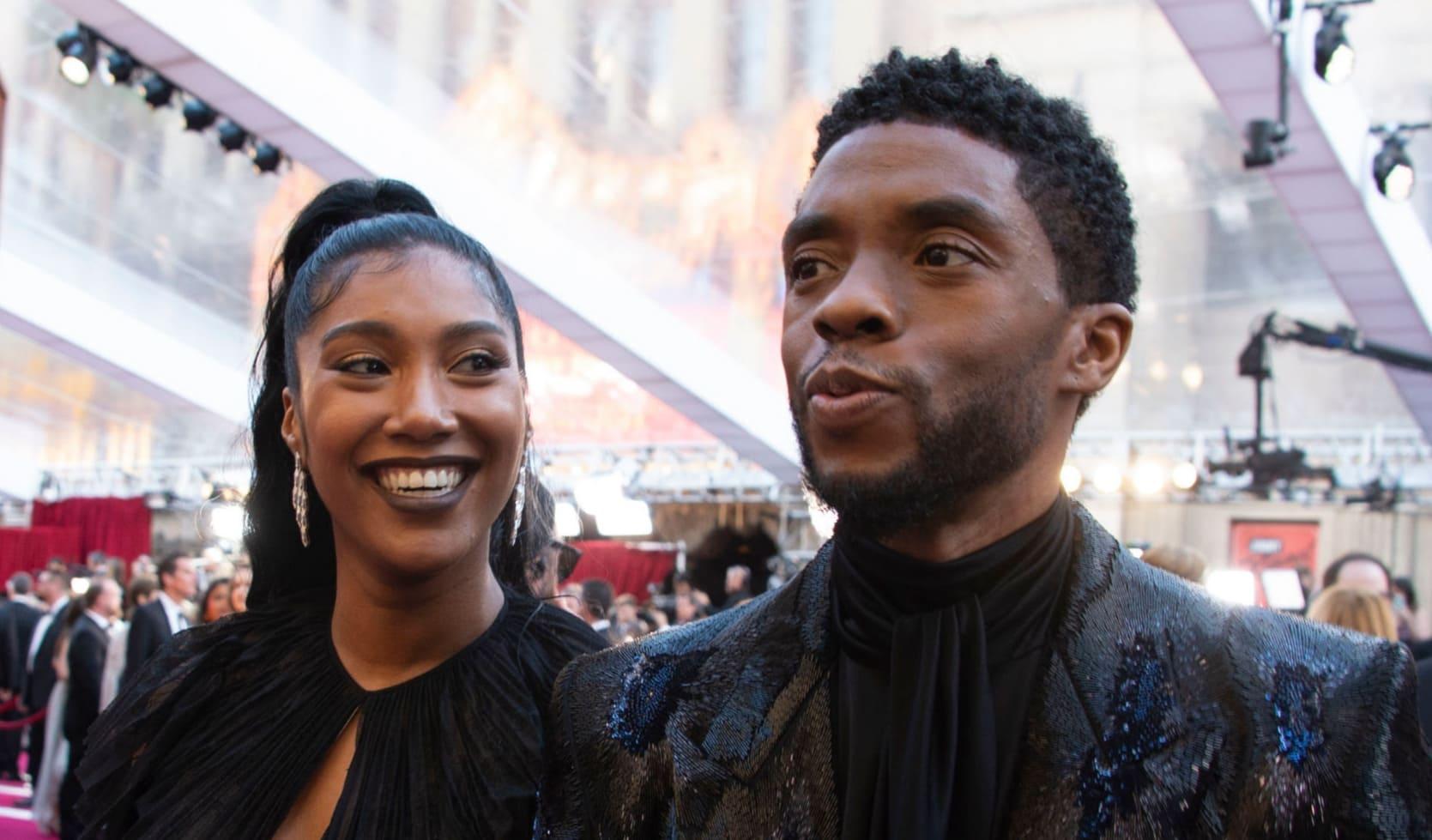 Chadwick Boseman Simone