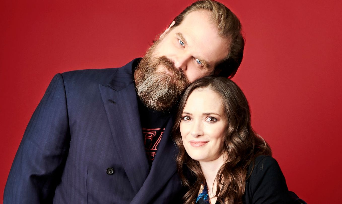 David Harbour Winona Ryder