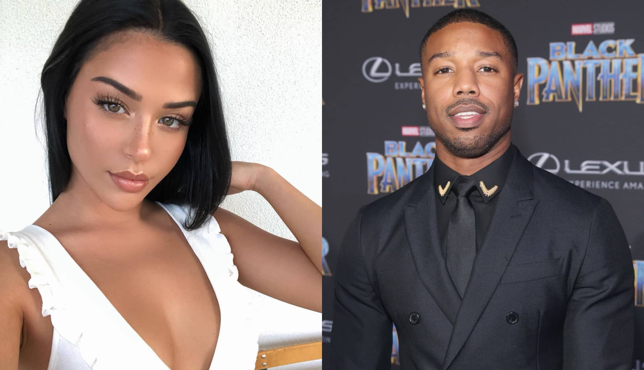 Ashlyn Castro and Michael B. Jordan