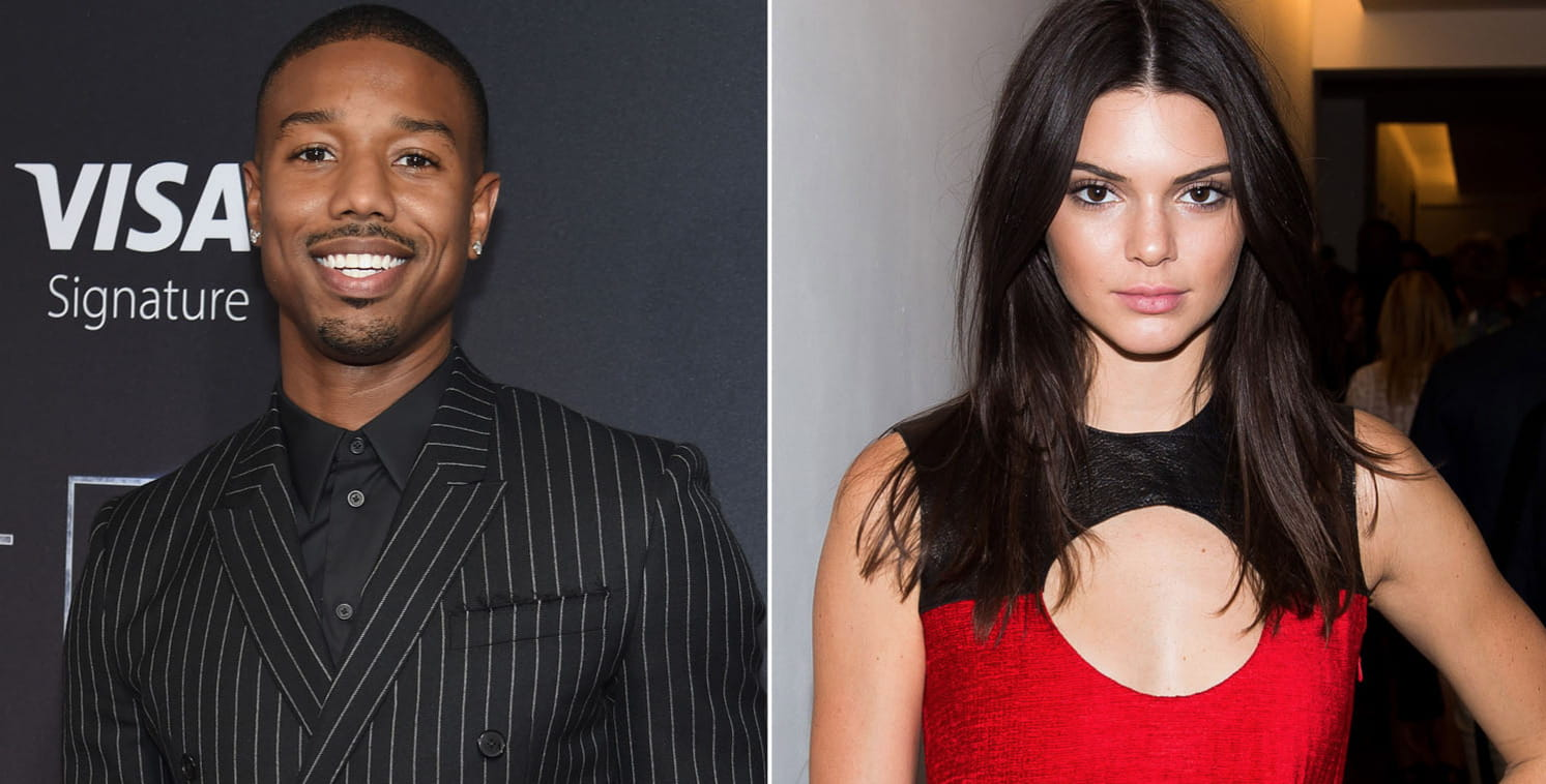 Michael B. Jordan and Kendall Jenner