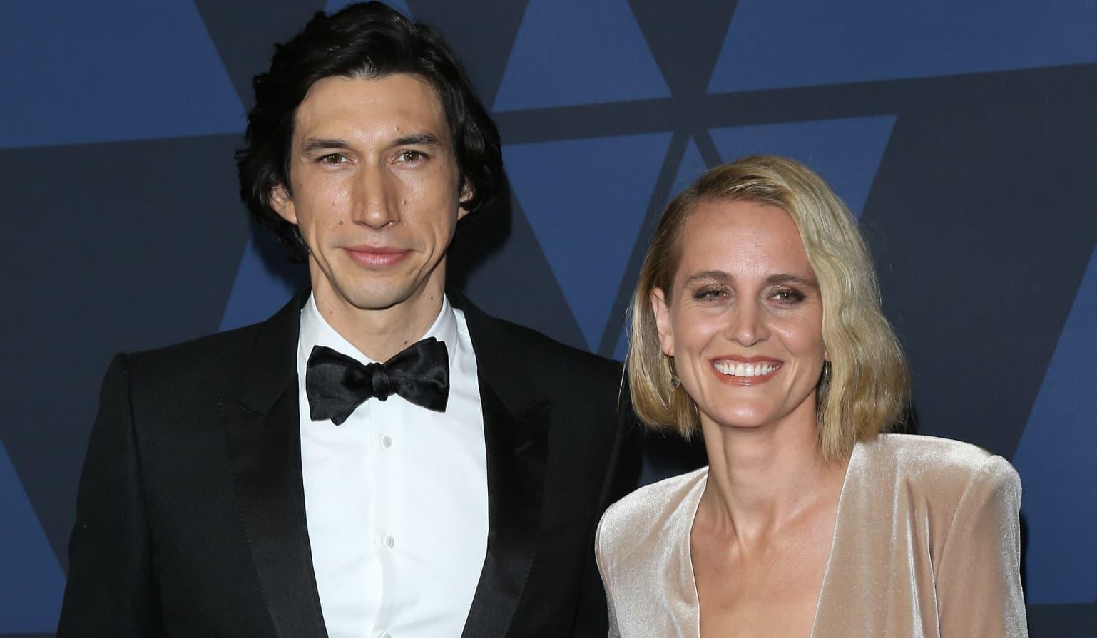 Adam Driver and Joanne Tucker